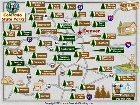 map of national parks in colorado colorado state parks map co vacation directory