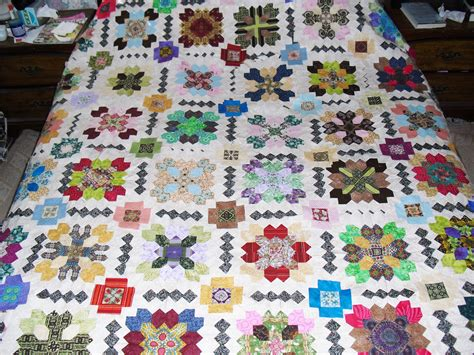 Hexagon Patchwork Projects - 1 90 degree hexagons inklingo projects