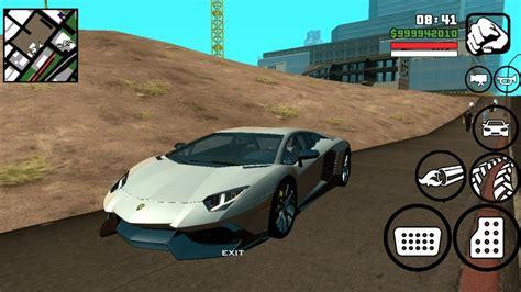 Gta San Andreas Lamborghini Mod Gta San Andreas Lamborghini Aventador 50th Anniversario