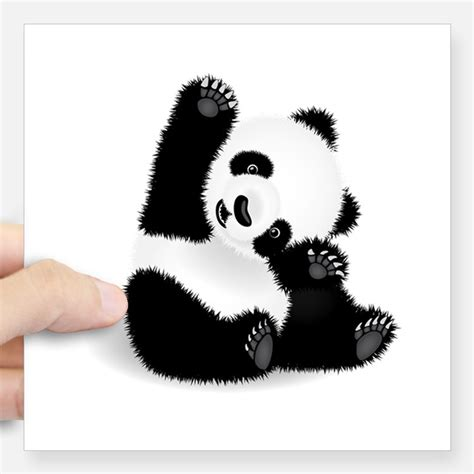 Sticker Panda pandas stickers pandas sticker designs label stickers