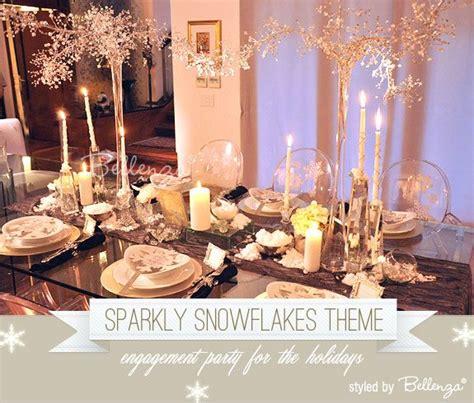 winter engagement party ideas  pinterest
