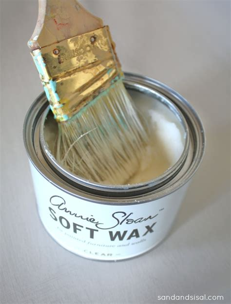 chalk paint and wax tutorial tutorial on how to apply sloan clear soft