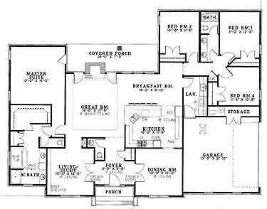 four bedroom ranch house plans the two house plans and caves on pinterest