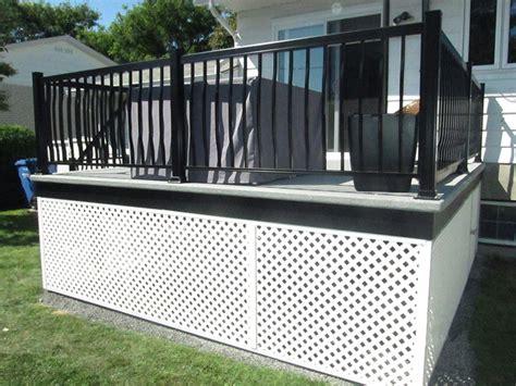 treillis pour balcon autres produits res et balcons dany pichette