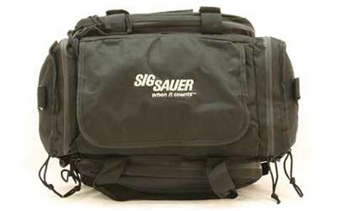 sig sauer gun range bag embroidered sig sauer logo and