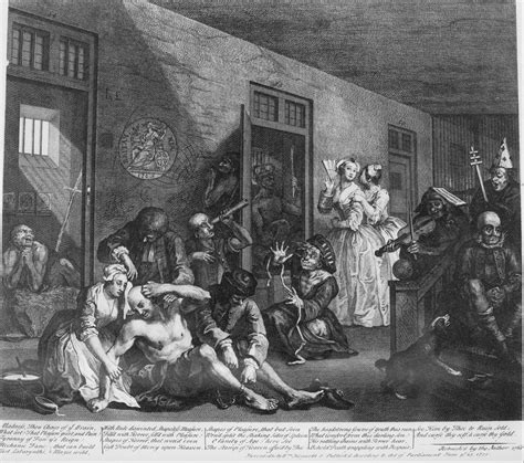 8 Paintings By Hogarth by File William Hogarth A Rake S Progress Plate 8 In The
