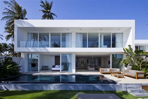 Modern Beach House | world of architecture stunning modern beach house by mm