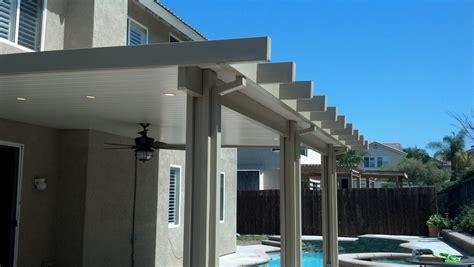white aluminum small patio cover   Decoración del hogar