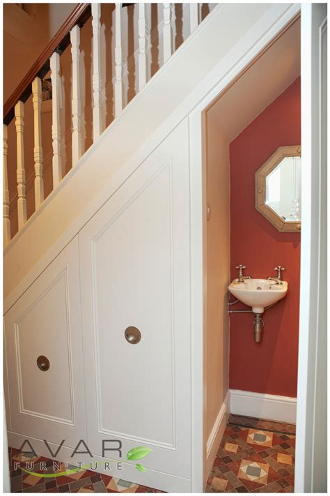 under stairs bathroom 07 traditional style under stairs unit from avar furniture