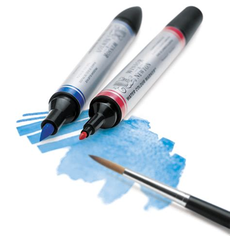 water color markers winsor newton watercolor markers blick materials