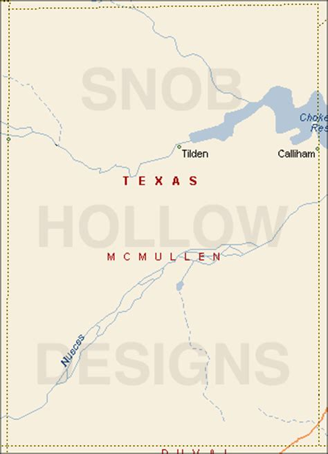 tilden texas map mcmullen county texas color map