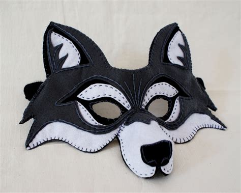 wolf mask template printable wolf mask cake ideas and designs