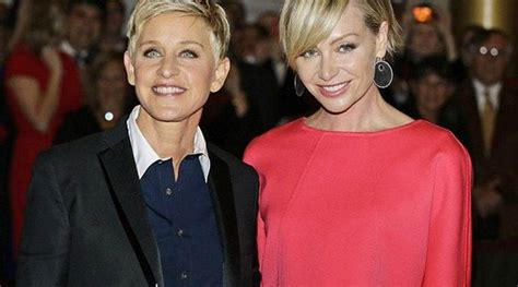 degeneres divorce portia degeneres and portia de on the verge of