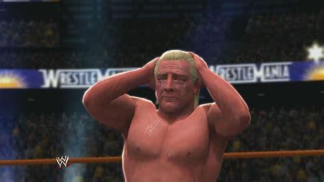 wwe 13 ric flair wwe 2k14 ric flair entrance finisher wrestlemania 24