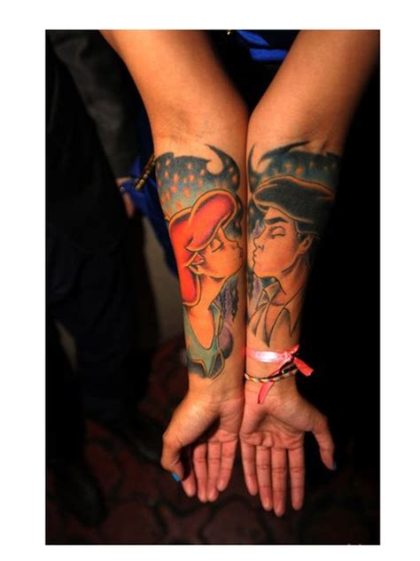 couple tattoo quiz for the disney lovers together forever love sealed