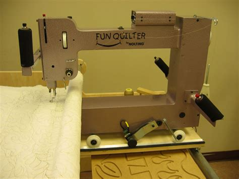 Hinterberg Quilt Frame by Quilter 174 By Nolting Manufacturing The Compact Longarm