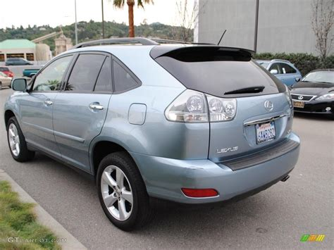 lexus rx 350 blue colors for lexus rx 350 2008 breakwater blue metallic