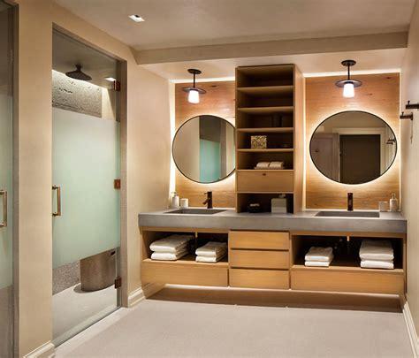 lindos banheiros  espelho redondo  voce se