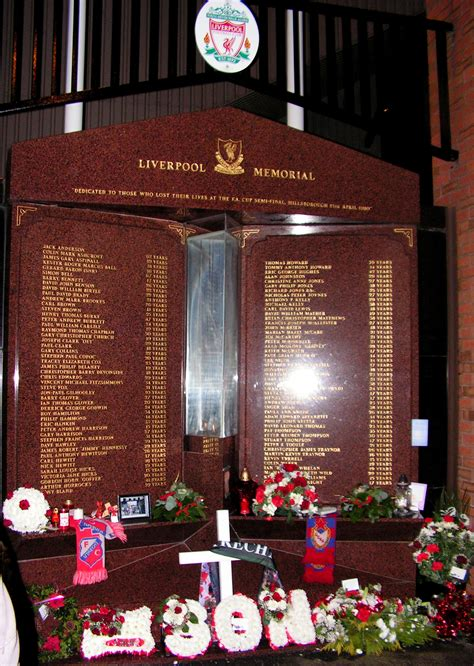 Hillsborough Records File Hillsborough Memorial Anfield Jpg Wikimedia Commons