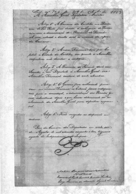 Emancipação política do Paraná – Wikipédia, a enciclopédia