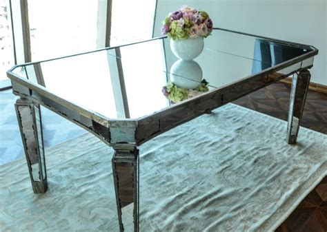 Mirror Dining Tables Mirrored Dining Table Home Furniture And Decor