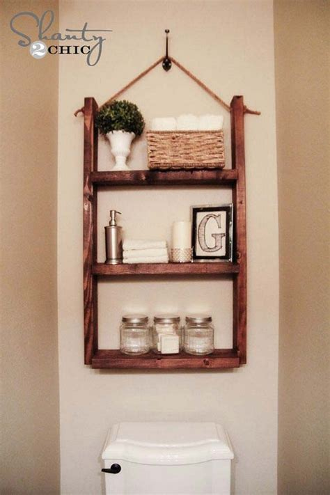 bathroom storage ideas toilet diy storage ideas for every part of your house