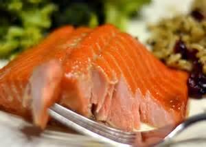 brown sugar baked salmon chew nibble nosh