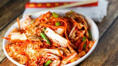 kimchi makanan asli korea  tersehat  dunia jadi