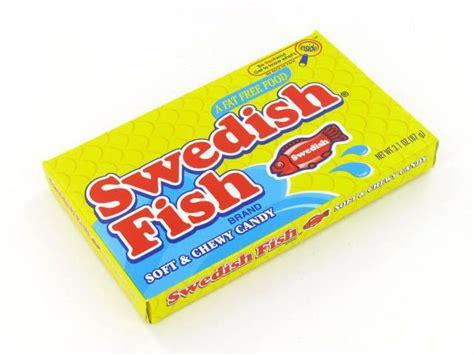 swedish fish swedish fish strawberry 3 1 oz theater box of 12