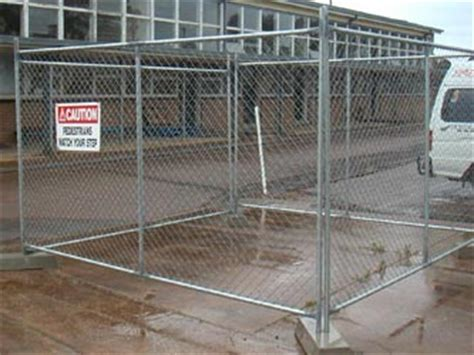 Premier Sheds Fencing by Temporary Commercial Fencing