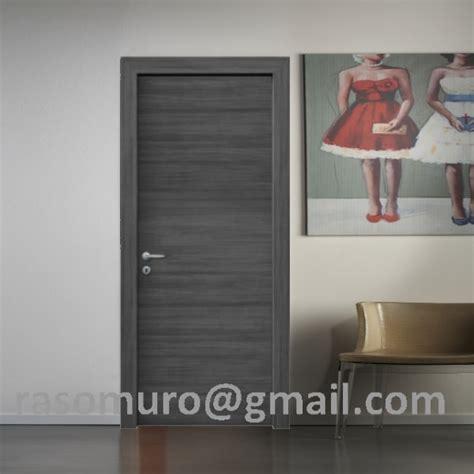 porte grigie great porta rovere grigio con telaio e coprifili idrofugo