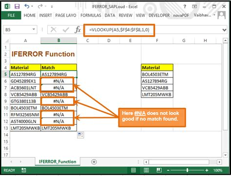 excel 2016 the vlookup formula in 30 minutes the step by step guide books how to avoid n a ref in your sheet learn iferror in