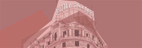 sede messaggero roma il palazzo messaggero diventa un illustrazione la