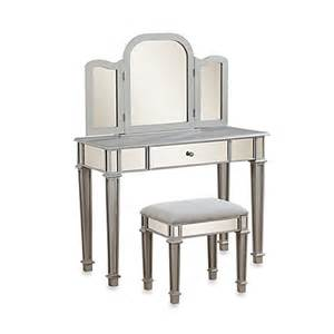Makeup Vanity Set Bed Bath And Beyond Linon Home Annalisa Vanity Set Bed Bath Beyond