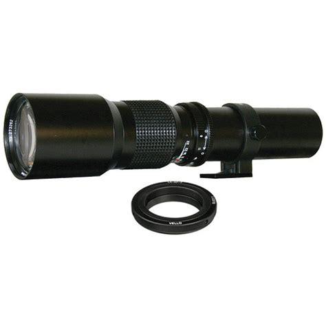 Lensa Kamera Telephoto Manual 500mm F 8 32 T Mount rokinon 500mm f 8 0 telephoto t mount lens with nikon lens b h