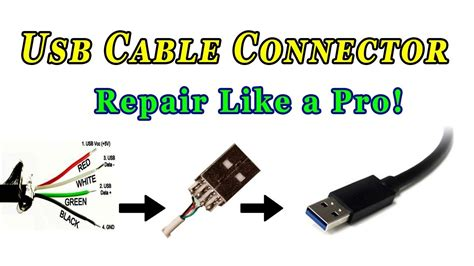 usb 4 wire color wiring diagram schemes