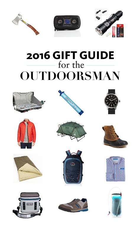 2016 gift guide for the outdoorsman snapshots my