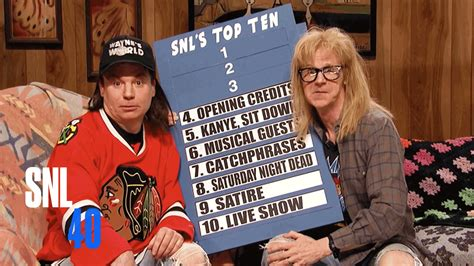 saturday night live tattoo removal wayne s world snl 40th anniversary special