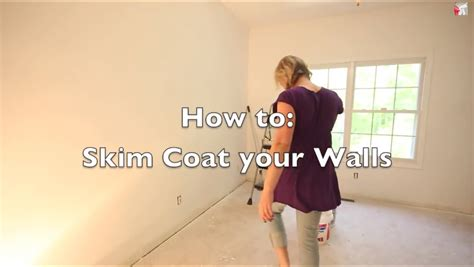 skim coat textured walls magic trowel