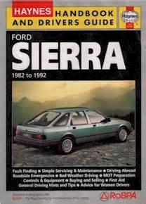 Haynes Ford Sierra Handbook