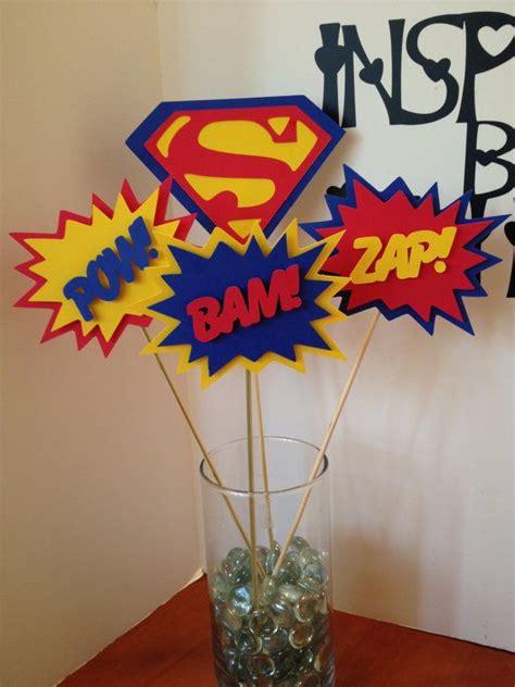 Superman Decorations by Superman Centerpiece 5 Pc Superman