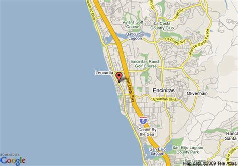 california map encinitas map of econo lodge encinitas encinitas