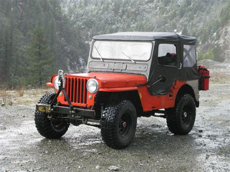 1947 willys jeep parts kaiser willys jeep of the week 225
