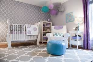 Purple And Teal Baby Bedding Fabulous Nursery Ideas Without A Hint Of Pink