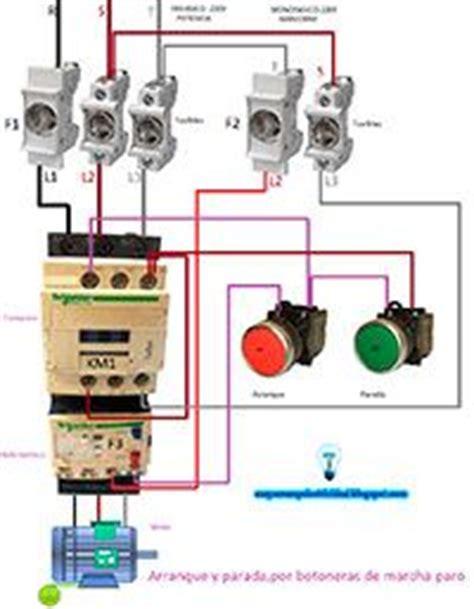 un contactor a botoneras esquemas el ctricos apexwallpaperscom esquemas el 233 ctricos arranque y parada por botoneras de