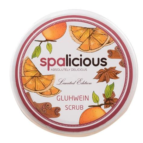 Special Edition Fleecy Scrub Original spalicious spalicious limited edition gluhwein scrub review bulletin scrubs