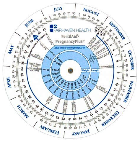 Ovulation Calendar Pregnancy Calculator Pregnancy Wheel Gestation Calculator Ovulation Predictor