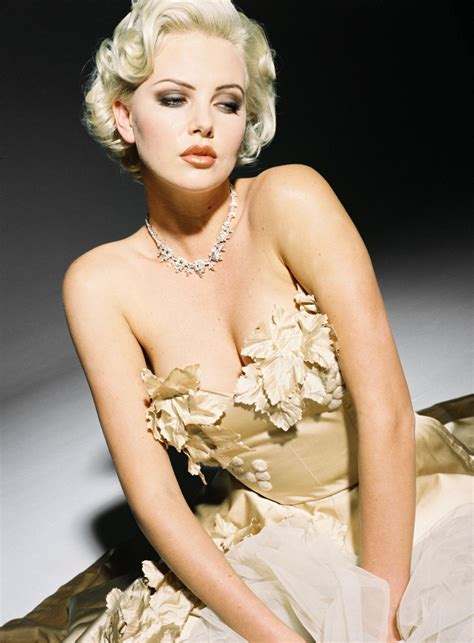 Charlize Theron Pretends To Model by Model Charlize Theron Wallpapers 6592