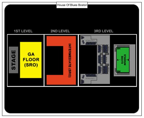 house of blues boston seating house of blues boston seating chart house plan 2017