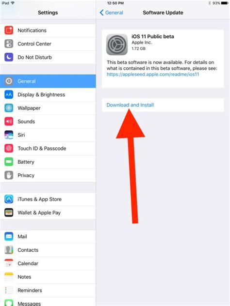 how to install ios 10 public beta on your iphone or ipad how to install ios 11 public beta on ipad